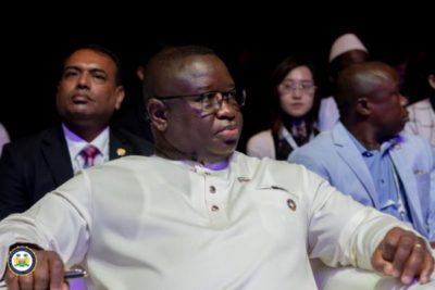 President Bio speaks in Abu Dhabi – Jan 2020 1