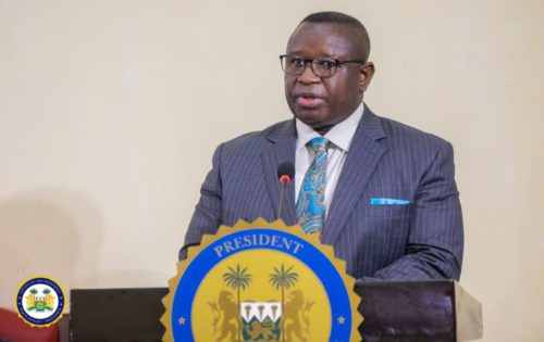 President Bio urges Sierra Leoneans to remain vigilant and promote social distancing1