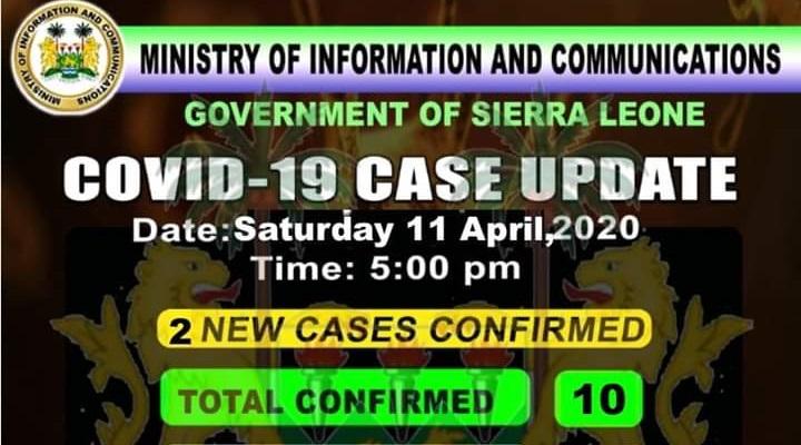 coronavirus sierra leone status – 11042020 2