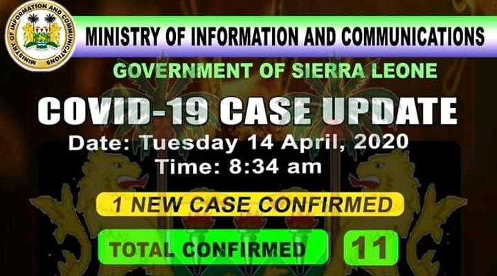 coronavirus sierra leone status – 14042020 2