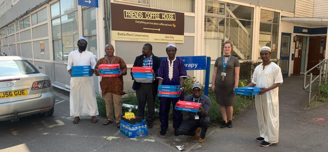 Sierra Leone Islamic Association donates Ramadan gifts to Royal Berkshire Hospital 1