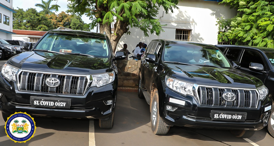 President Bio donates luxurious SUVs to government ministers and officials 2
