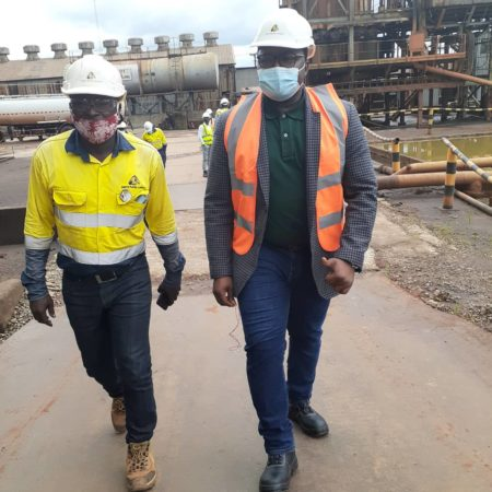 minister of mines visits mines 2