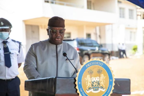 President Bio unveils plans to effectively manage Sierra Leone's marine resources