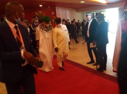 President Bio in Ivory Coast