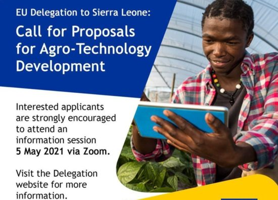 European Union Delegation to Sierra Leone – Call for proposals for Agro-Technology Development