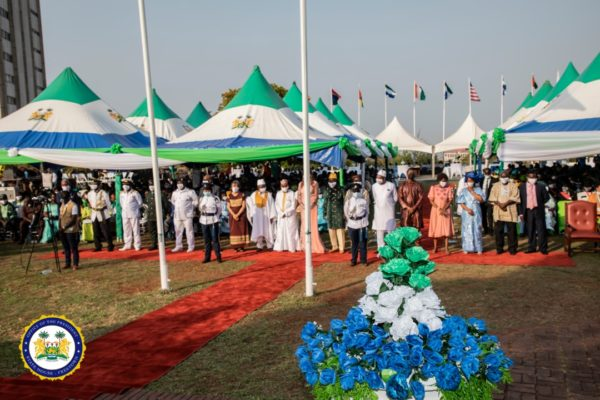 President Bio honours distinguished Sierra Leoneans for diligent and dedicated service to country4