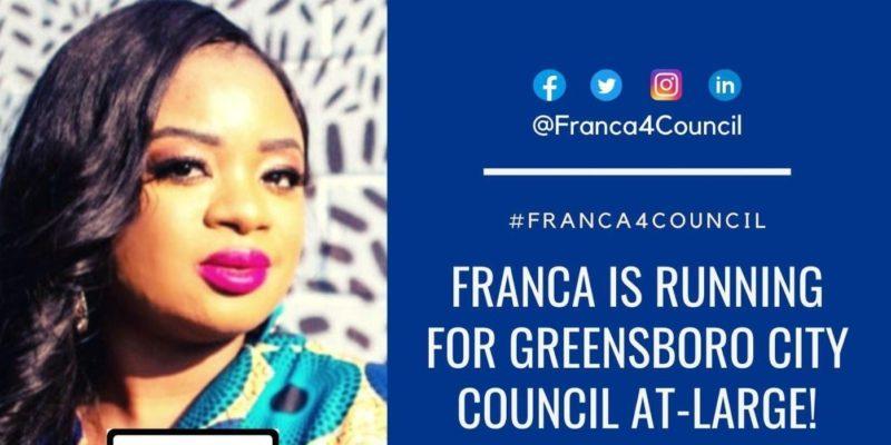 Sierra Leonean born Franca Jalloh set to win USA local elections in Greensboro North Carolina 4