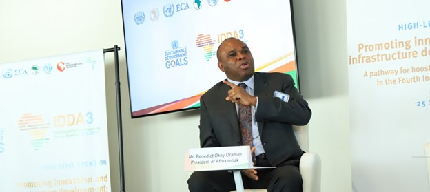 Benedict Okey Oramah President of Afreximbank and Chairman Board of Trustees of the African Union COVID 19 Response Fund