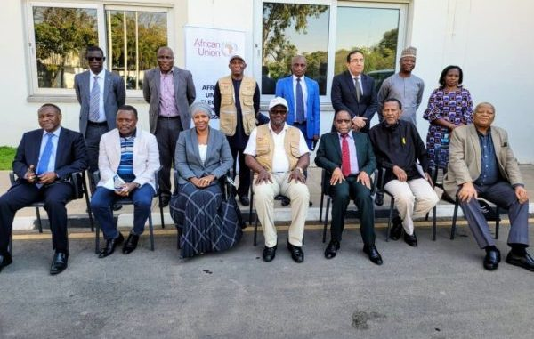 Former President Koroma of Sierra Leone addresses AU elections observer team in Zambia 2 e1628462030746