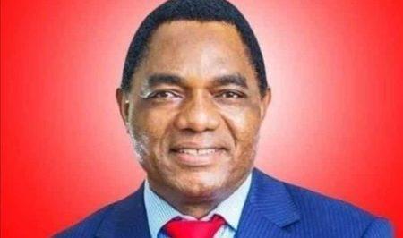 Zambian President Elect Hakainda Hichilema