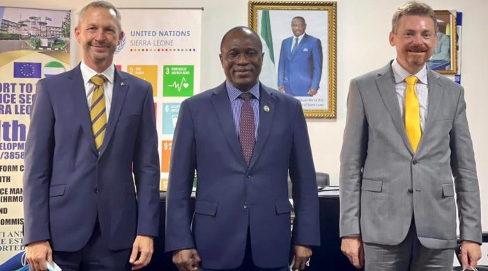 EU promises to maintain support for Sierra Leone's development