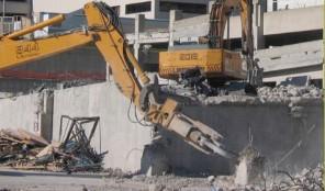 Doyne Hospital demolition