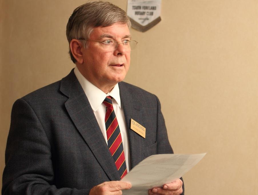 Richard Brown Rotary Speech