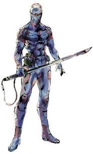 Gray fox from Metal Gear.