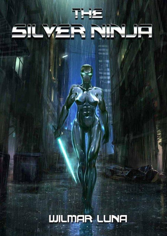 The Silver Ninja 2012 front cover. Artwork by: Lorenz Hideyoshi Ruwwe