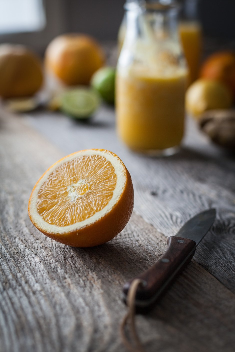 the simple green - citrus ginger tonic