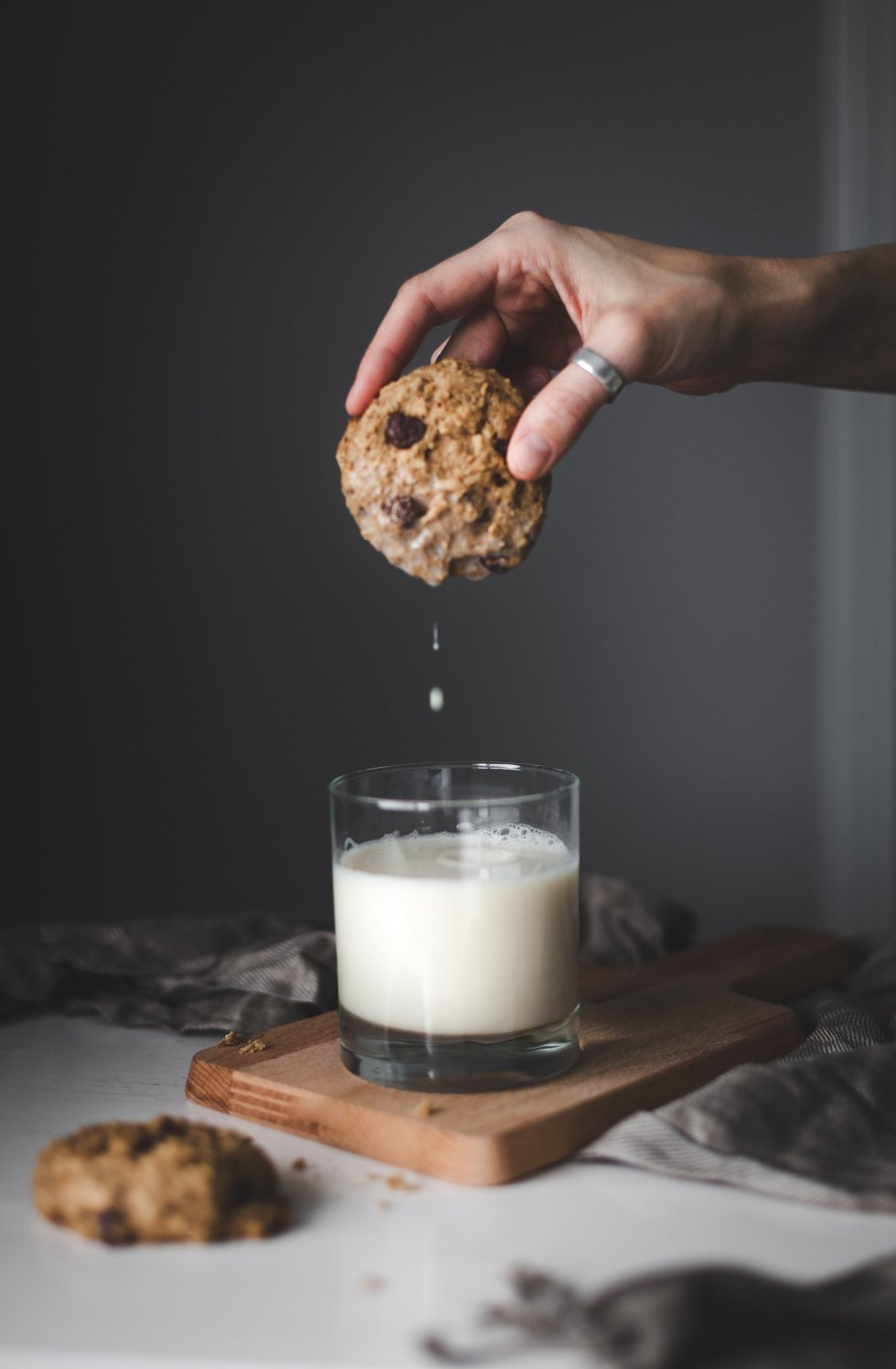 Banana Bread Breakfast Cookies- The Simple Green