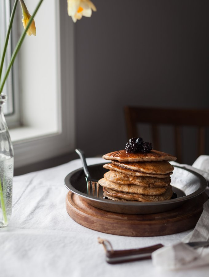 Multigrain Pancakes- The Simple Green