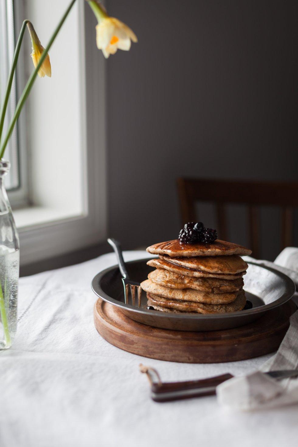 Multigrain Pancakes- The Simple Green