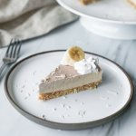 Raw Banana Cream Pie