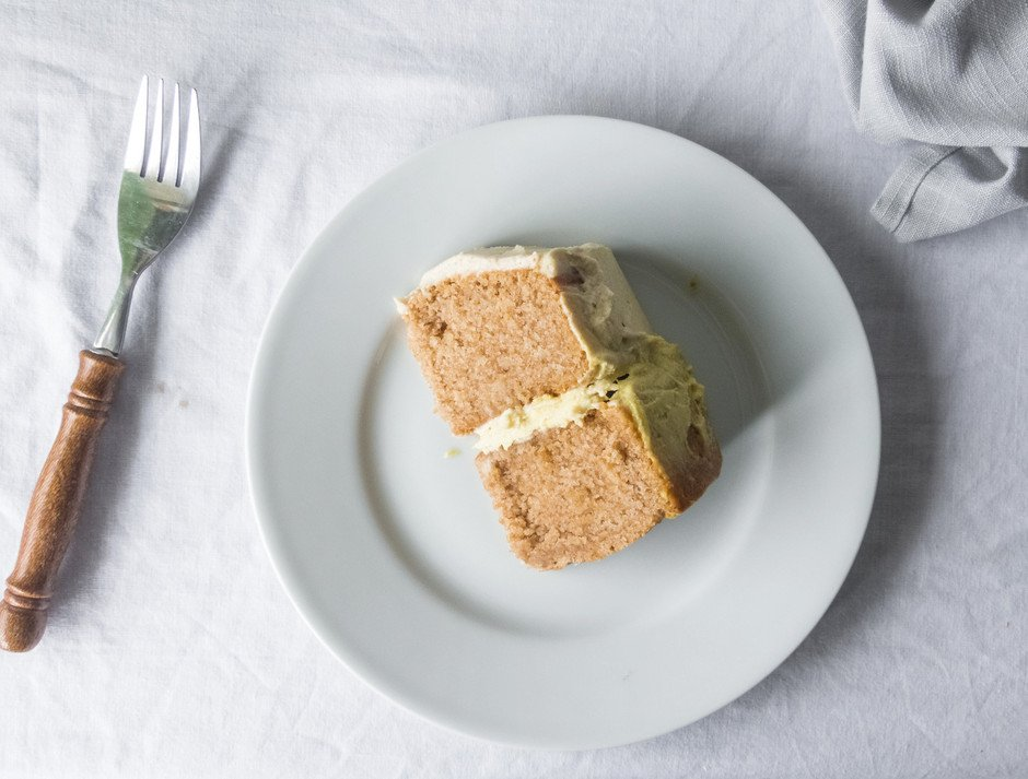 Mini Lemon Cake - The Simple Green