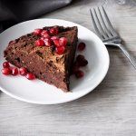 vegan chocolate almond torte
