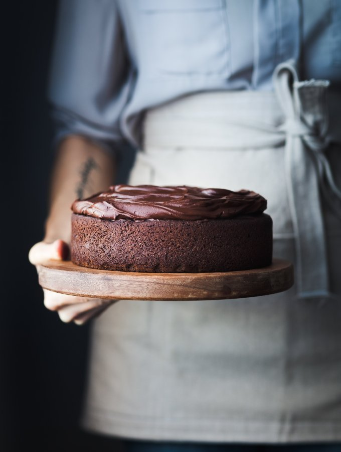 Double Chocolate Beetroot Cake