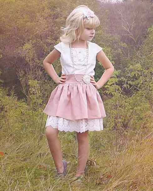 Ruby's Ruffle A-line top + Dress | The Simple Life Pattern Company PDF sewing pattern for girls tween top dress ruffle button placket bodice aline skirt cap sleeves long sleeves square neckline shirt dress shift sheath dress classy vintage modern spring summer fall winter dress
