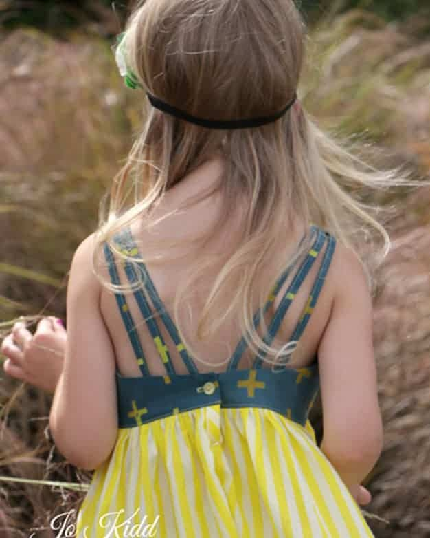 Lexi's Strappy Back Dress + Maxi | The Simple Life Pattern Company