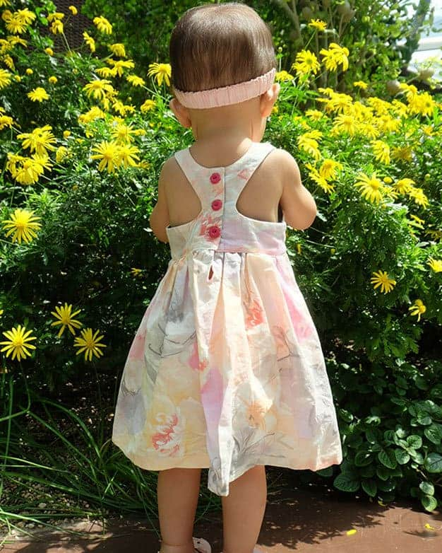 Baby Lucy Back Dress | The Simple Life Pattern Company