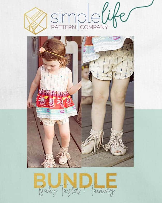 Baby Taylor + Baby Tammy | Bundle | The Simple Life Pattern Company