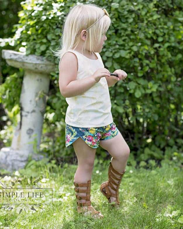Tammy Shorts | The Simple Life Pattern Company