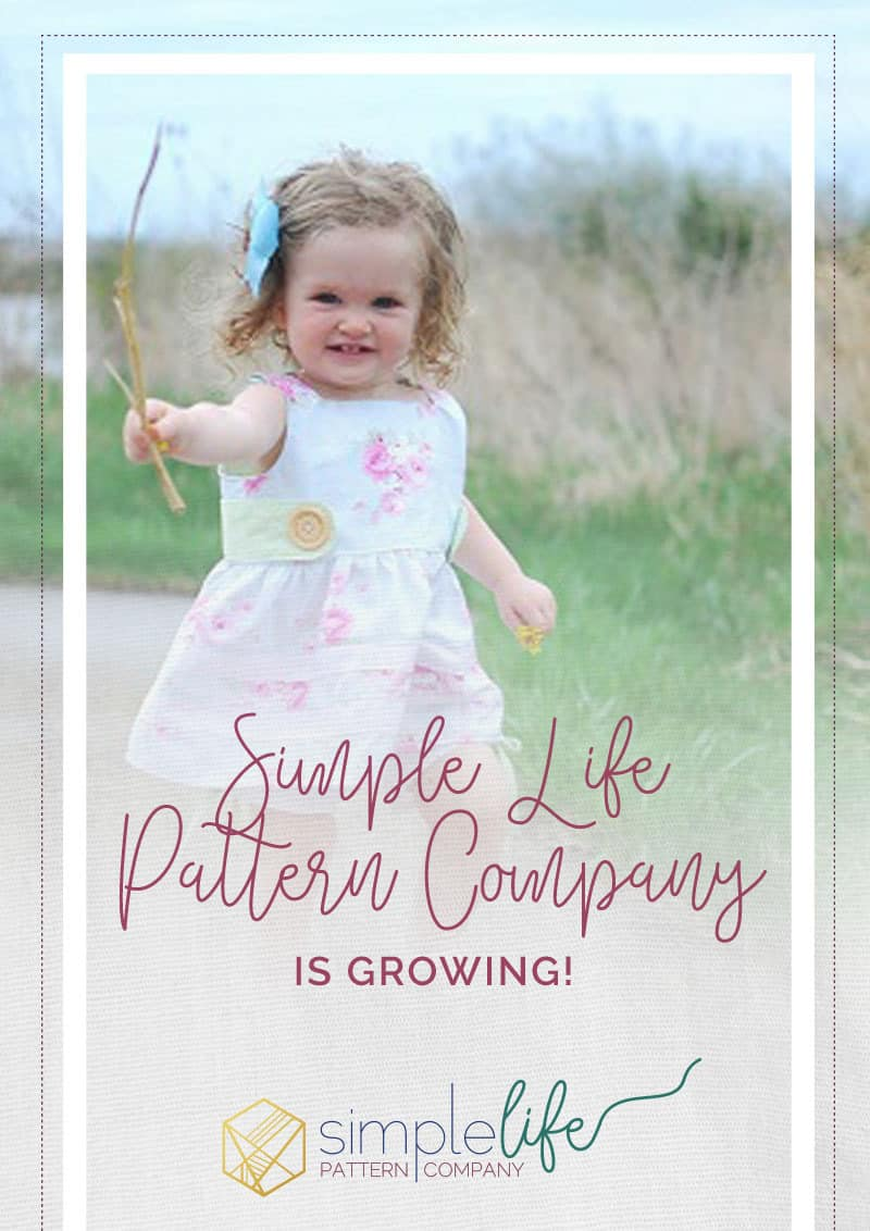 Simple Life Pattern Company is growing!