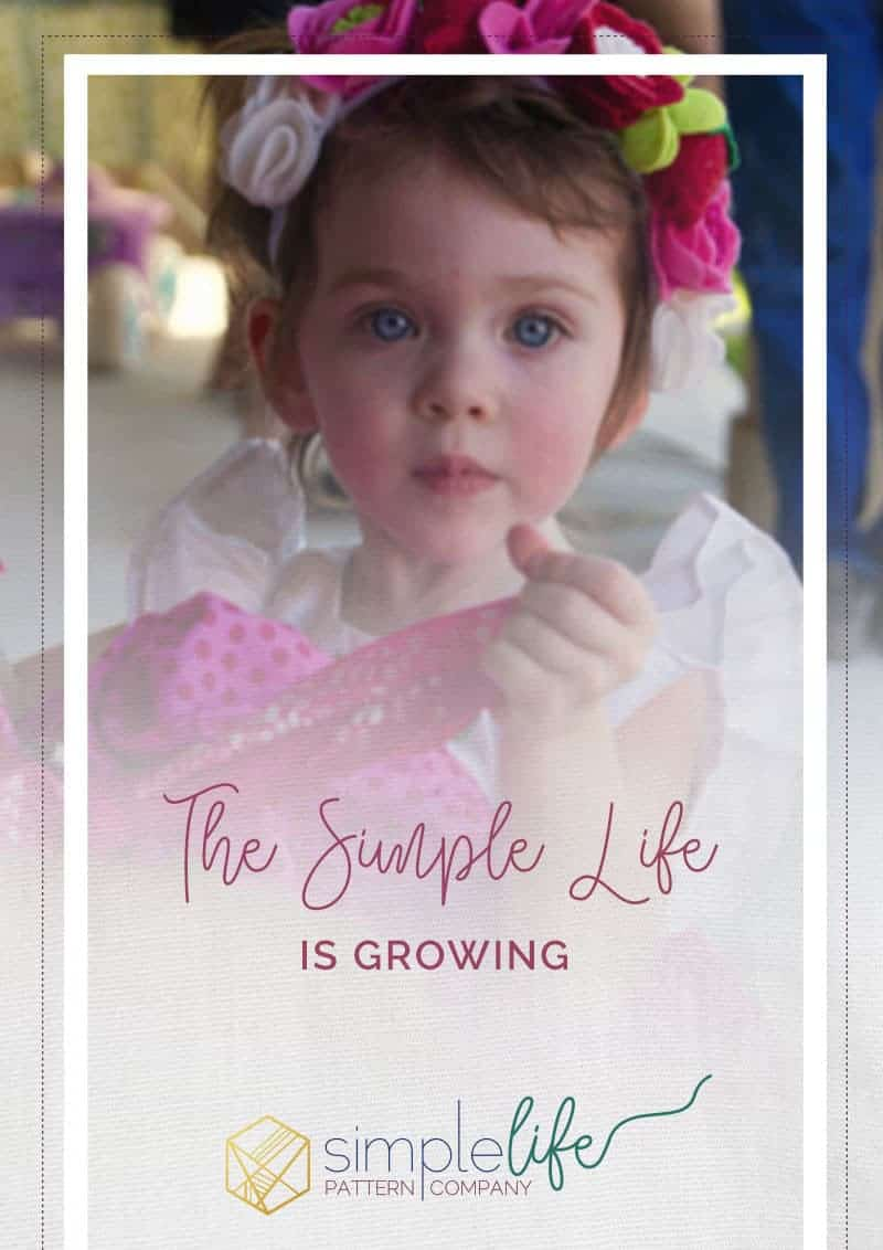 The Simple Life Pattern Company is Growing