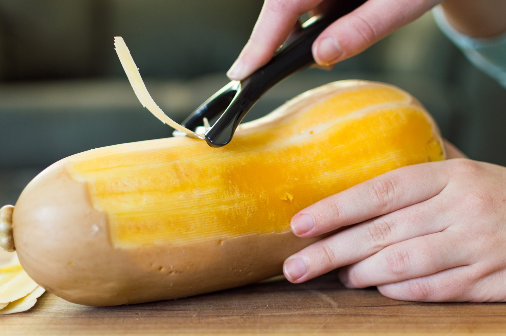 How to Peel and Dice a Butternut Squash