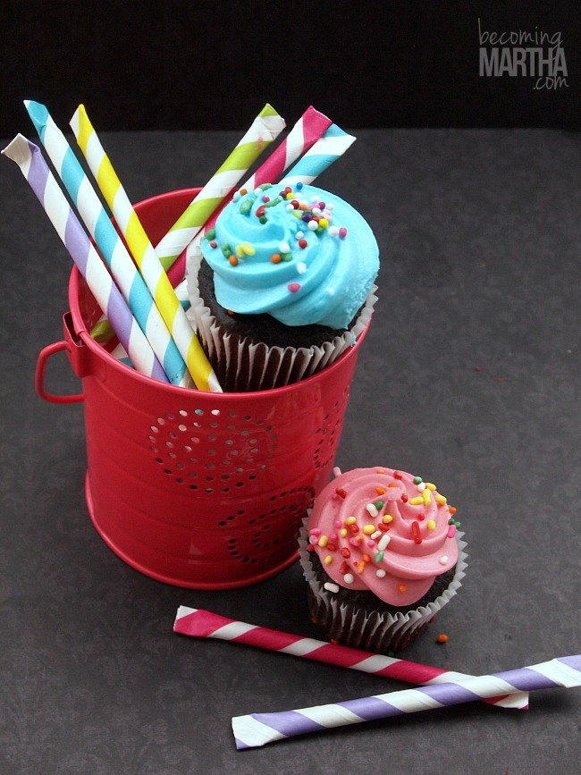 Sprinkle Filled Pixie Sticks