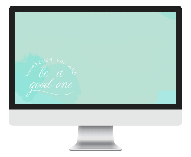 Beautiful watercolor backgrounds for your tech - computer, ipad, and iphone included!