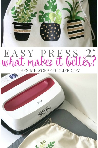 Cricut EasyPress vs EasyPress 2: Why the new Easy Press is even better than the original and why you need to get one for yourself!