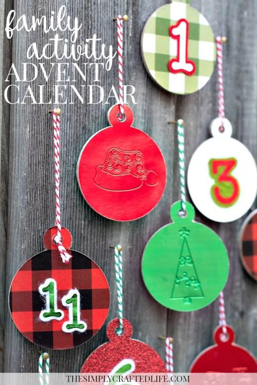 Family Activity Advent Calendar