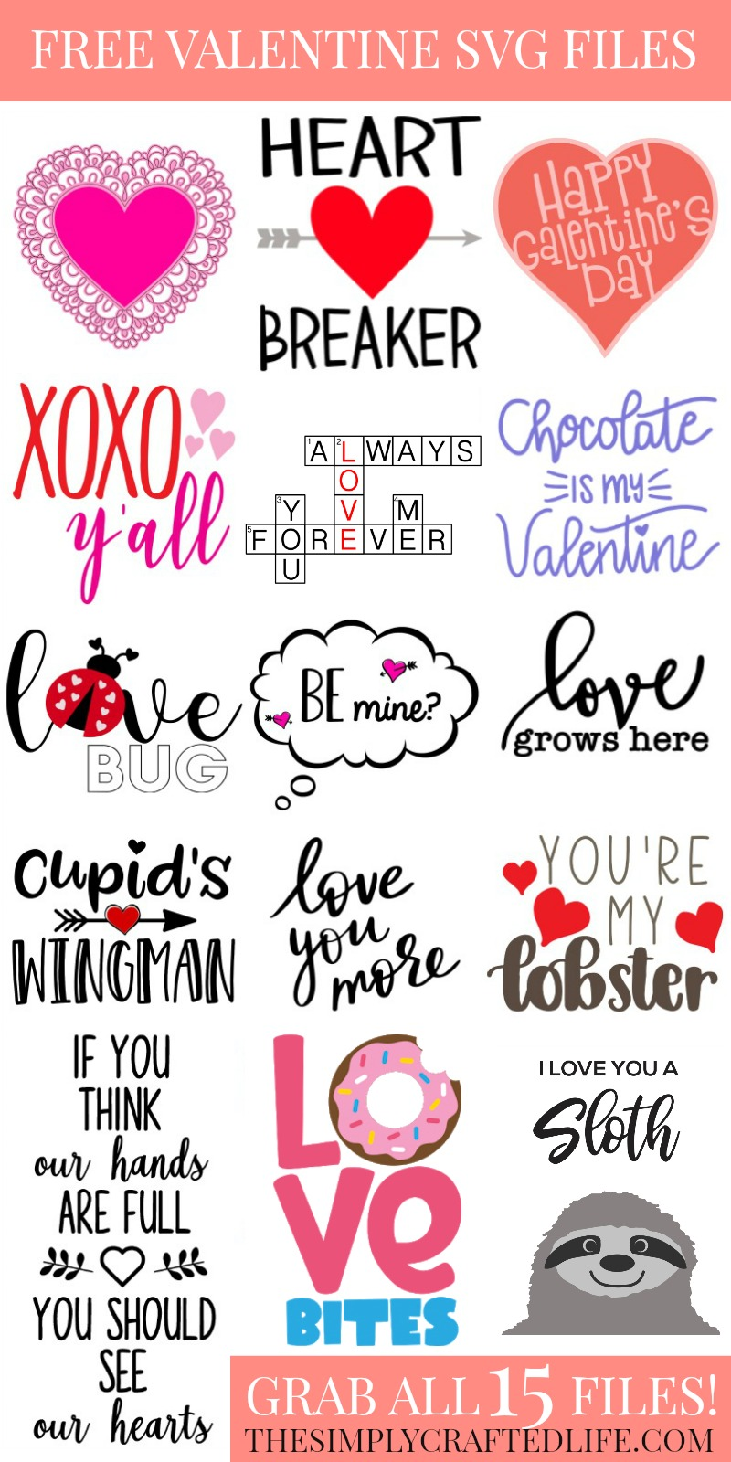 YOU'RE MY LOBSTER VALENTINE DAY SVG