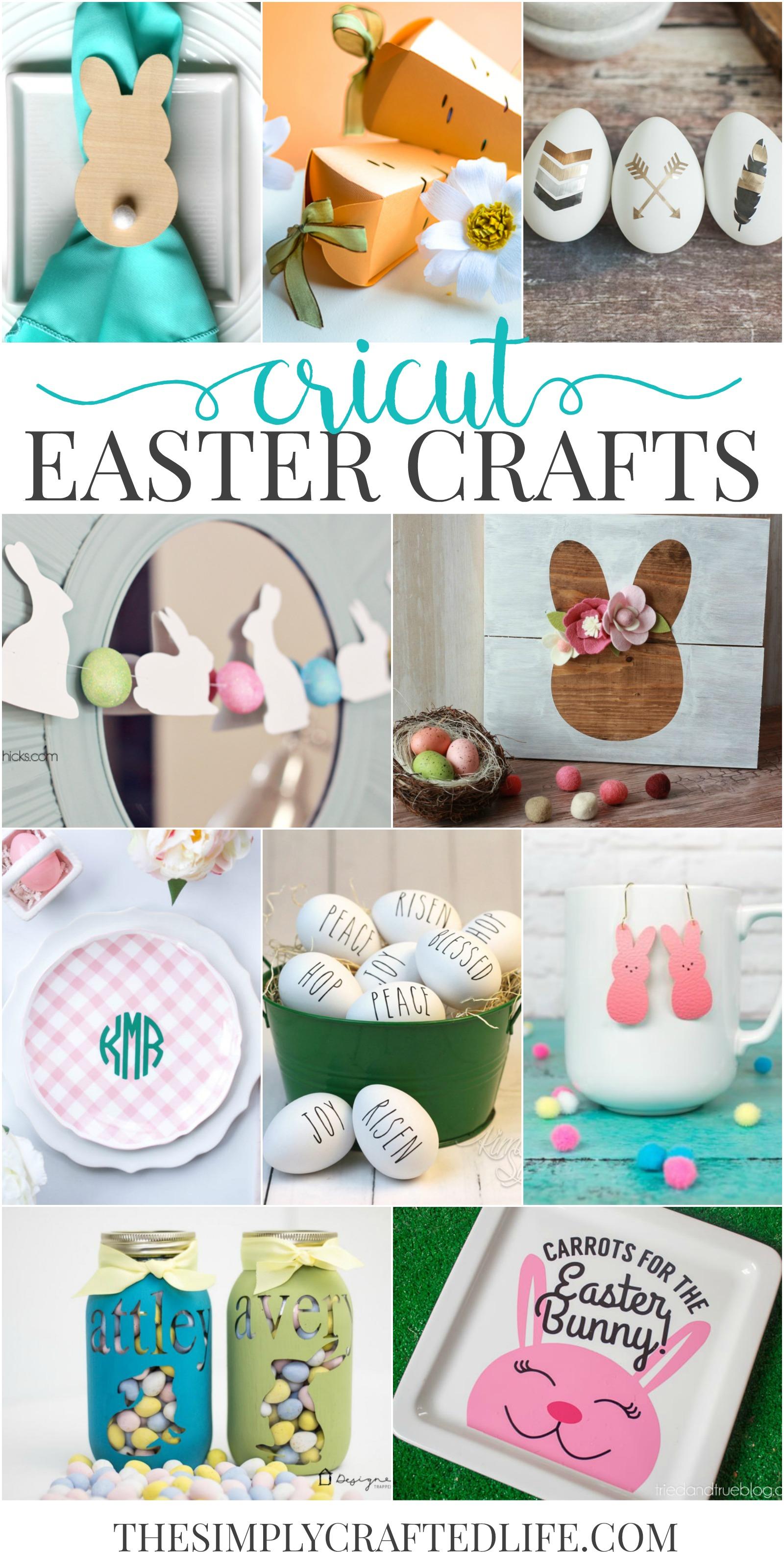 Cricut Easter Crafts