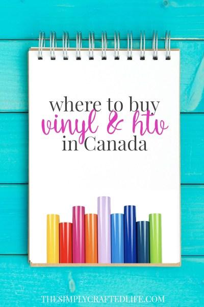 Where to buy Vinyl in Canada