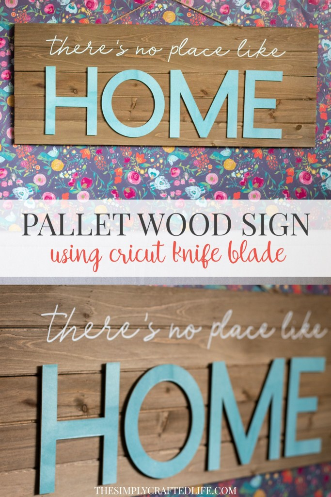 How to Make a Wood Sign with Cricut