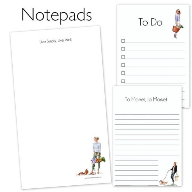 notepads3 | The Simply Luxurious Life, www.thesimplyluxuriouslife.com