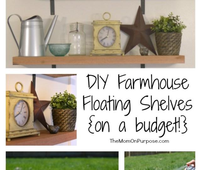 Diy Farmhouse Floating Shelves