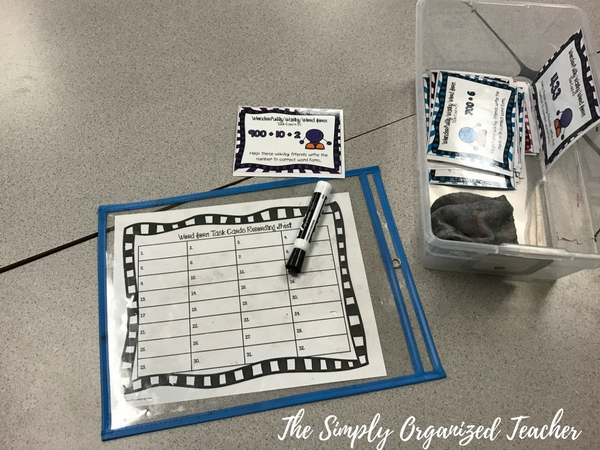 Math Stations: How to organize and manage math stations.