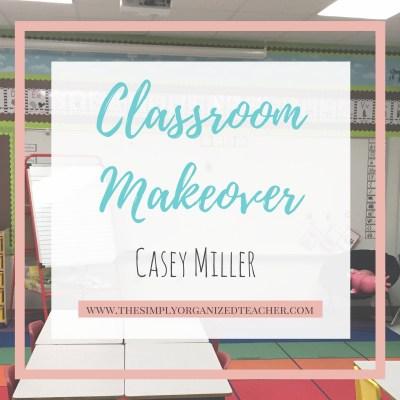 Classroom Makeover: Casey's Room