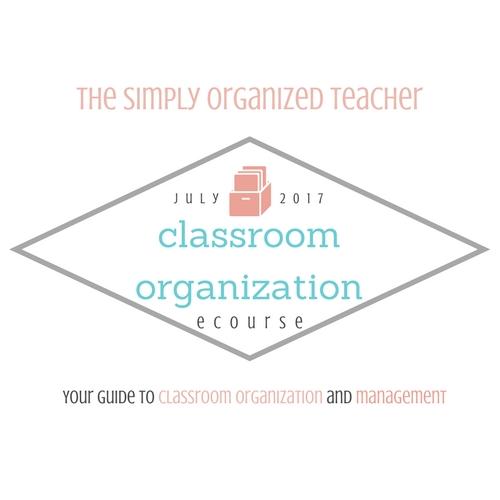 Classroom Organization ecourse