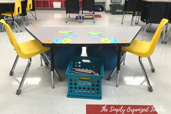 Flexible Seating And Cooperative Learning Ideas In An Elementary Classroom